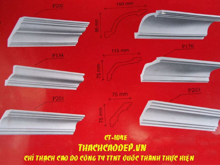 CATALOGUE PHÀO CHỈ MS:CT104E