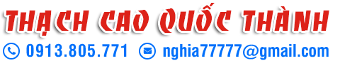 Slogan Thạch cao Quốc Thành